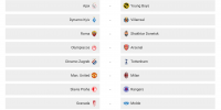 Sorteo de octavos de Europa League